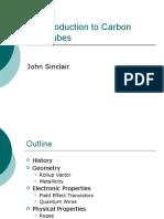 An Introduction to Carbon Nanotubes