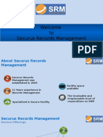 Securus Records Management Corporate Presentation 3