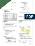 Programación en C Resumen