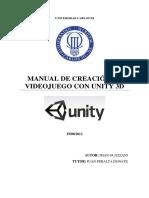 Manual de Creacion d Videojuego Con Unit