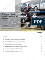 (Logistics) Global Trends in Automotive Road Logistics Marke