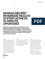 Nomad Helped Riverside Health System Achieve 15-Minute Upgrades