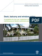 Deck Balcony and Window Safety Guideline
