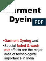 Class- Garment Dyeing