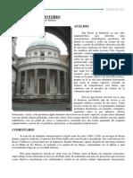 Comentario San Pietro in Montorio, de Donato Bramante