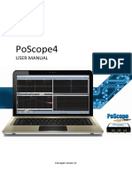 PoScope4 User Manual