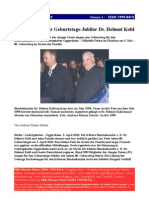 Helmut Kohl Geburtstag Bericht 1