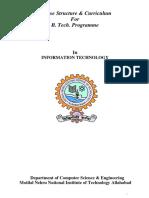 Information Technology 3rd Year Curriculum