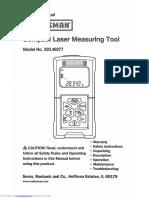 32048277 Owners Manual Distanciometro