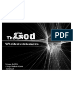 The God Who Desires to Be Known Take Home Guide