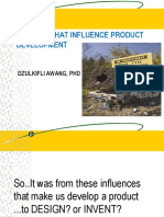 Factors That Influence Product Development