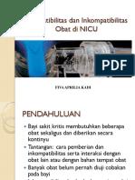 Dr. Fiva - Kompatibilitas Dan Inkompatibilitas Obat Di NICU