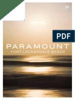 Fort Lauderdale New Construction Communities   Paramount