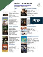 DVD berriak
