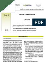 Tomo 14 Diseño Curricular Versión Definitiva 2011 2015