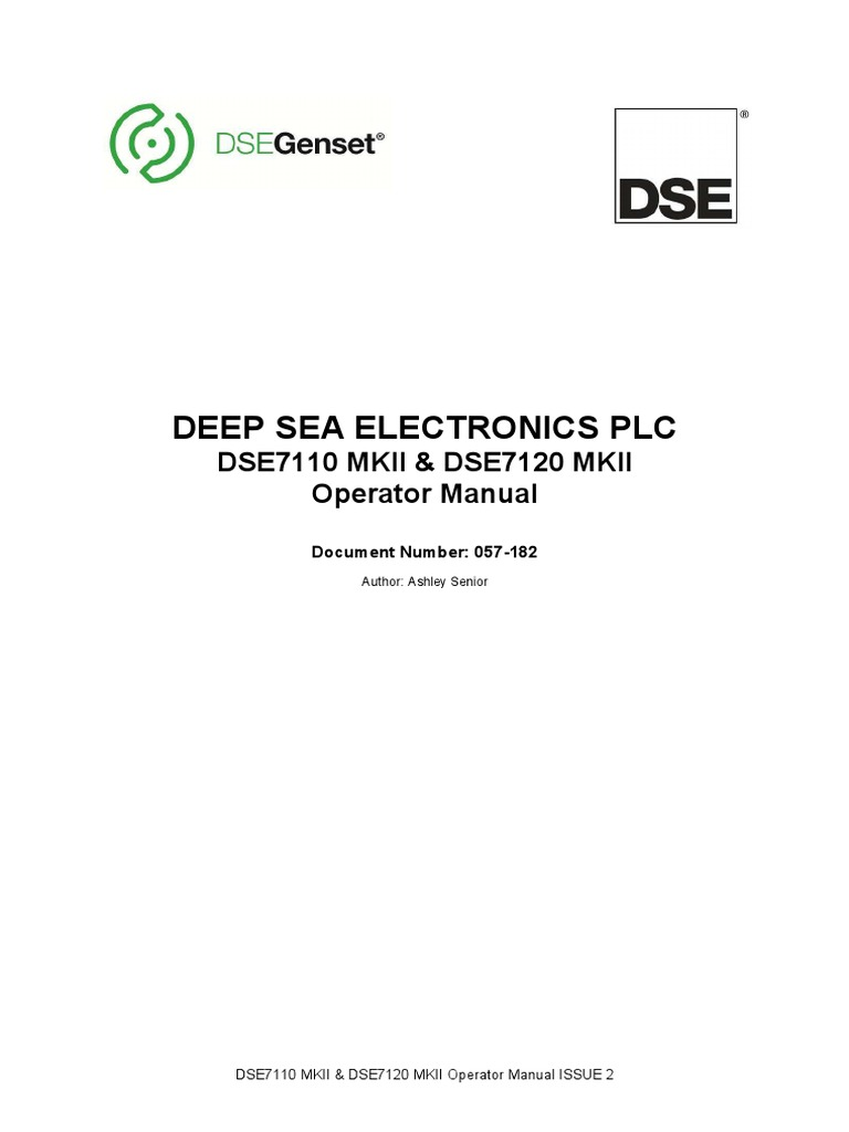 Dse 335 Wiring Diagram Circuit Connection Toggle Switch Dse7110 Dse7120 Mkii Operators Manual Relay Usb Rh Scribd Com 2 Humbucker Diagrams