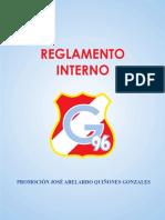 REGLAMENTO INTERNO G-96
