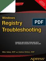 Windows Registry Troubleshooting 2015