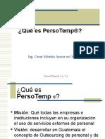 Presentacion Persotemp Oscar Parte II