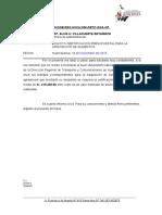 Informe certificacion presupuestal