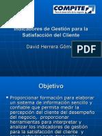 Indicadores de Gestion Para La Satisfaccion Del Cliente