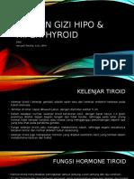 Asuhan Gizi Hipo & Hiperthyroid