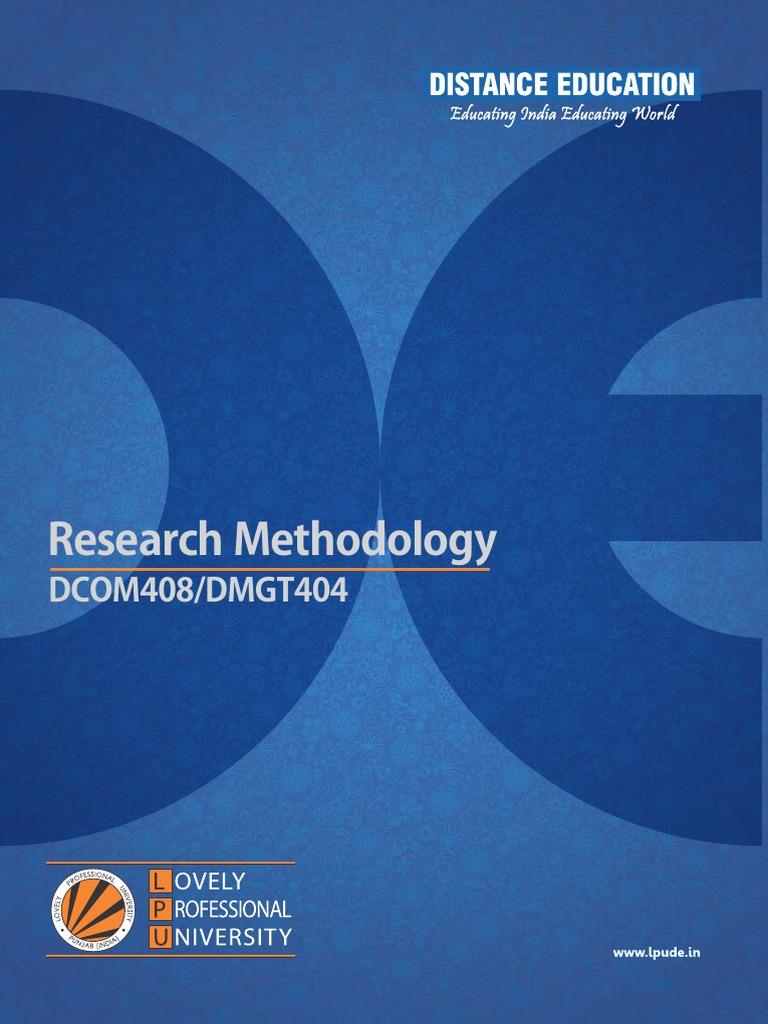 Research Methodology   Quantitative Research   Social Sciences