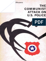 The Communist Attack on US Police