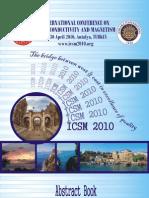 Icsm2010 Book