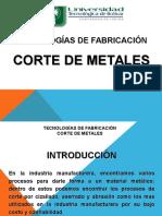 Corte de Metales