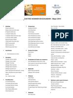 Lista de Productos Kosher en Ecuador