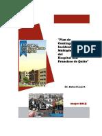 Plan de Contingencia Para Multiples Victimas Hsfq 2015
