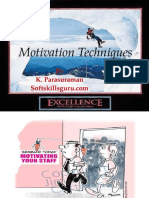 Motivation Techniques- Ram