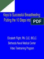 Keys to Successful Breastfeeding