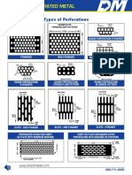 DirectMetals Round Perforated Metal - Sizes