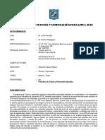 Plan Anual de Tutoria y Orientacion Educativa Ccesa007