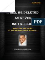 Will Be Deleted as Never Installed