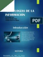 Tecnologias de La Información Presentación