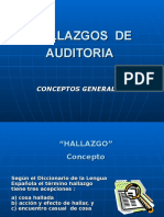 Auditoria - Hallazgos