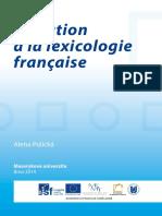 Initiation à La Lexicologie Française