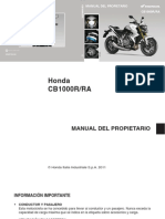 manual cbr honda 1000