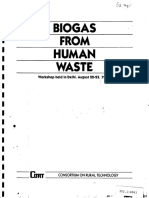 Biogas From Human Waste Handbook