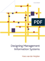 Hans Van Der Heijden-Designing Management Information Systems -Oxford University Press, USA (2009)