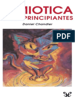 Daniel Chandler - Semiotica Para Principiantes [ID] (r0.1)