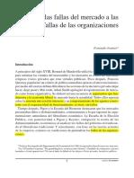 De Las Fallas Del Mercado a Las fallas de las Organizaciones - Jeannot