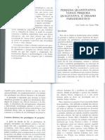 3 - SANTOS FILHO, José Camilo Dos. Pesquisa Quantitativa Versus Pesquisa Qualitativa o Desafio Par