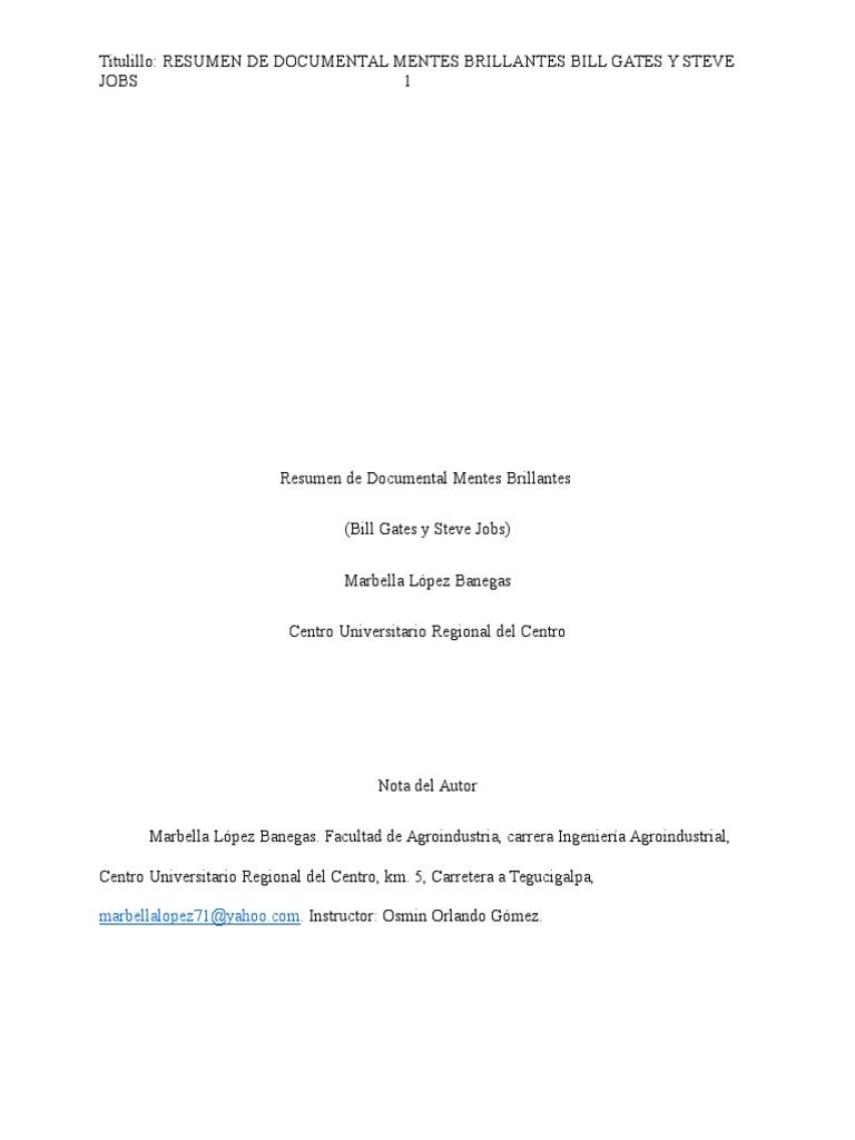 Best Steve Jobs Resumen Yahoo Ideas - Example Resume Templates ...