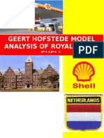 Hofstede Model of Royal Dutch Shell