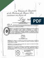Ley Nº14799 Colegio Prof Turismo