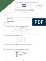 Examen combinatoire